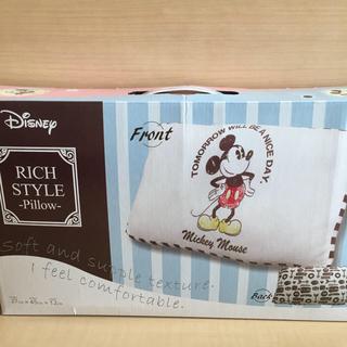ディズニー(Disney)のミッキー まくら 新品(枕)