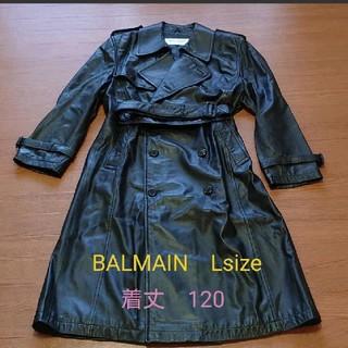 バルマン(BALMAIN)のBALMAIN レザーコート Lsize カッコいい 交渉有り(レザージャケット)