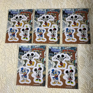 Disney - ディズニー オリジナルマグネットシート 新品未使用☆非売品5セット Disney
