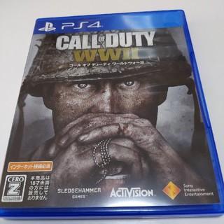 PlayStation4 - コール オブ デューティ ワールドウォーII PS4