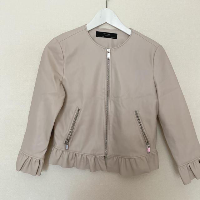 ZARA(ザラ)のザラ レザージャケット メンズのジャケット/アウター(レザージャケット)の商品写真