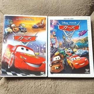 Disney - カーズ①②(DVD+Blu-ray)2枚セット