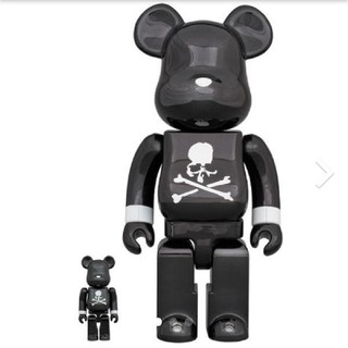 BE@RBRICK mastermind JAPAN BLACK CHROME(キャラクターグッズ)