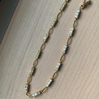 18金 ダイヤモンド 2ct ブレスレット   綺麗なダイヤが使われています
