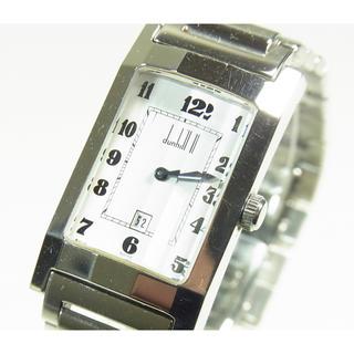 ダンヒル(Dunhill)の★良品 dunhill ダンヒル カットガラス 腕時計 電池交換済 箱付★ (腕時計(アナログ))