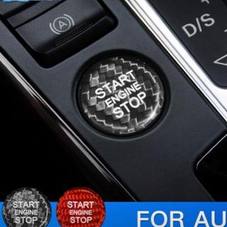 アウディ(AUDI)のAudi エンジンスタートボタン カバー Q5 (車内アクセサリ)