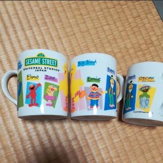 セサミストリート(SESAME STREET)の新品未使用◆セサミストリート◆ユニバ土産◆マグカップ◆Sesamestreet(グラス/カップ)