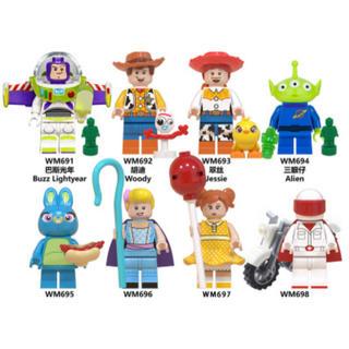 レゴ 相互品 8体セット ブロック 男の子玩具(積み木/ブロック)