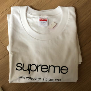 Supreme - Supreme 20SS Shop Tee White Lサイズ シュプリーム