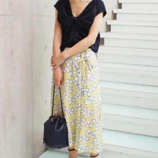 IENA - イエナ レトロフラワーラップスカート 40