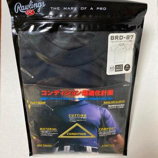 Rawlings - 【半額】ローリングス 半袖アンダーシャツ ブラック XO