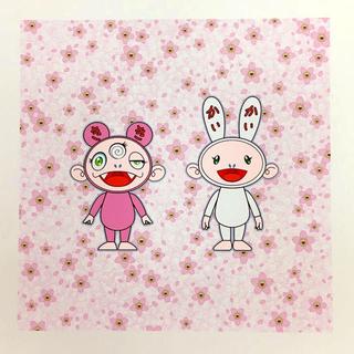 村上隆 桜咲く。カイカイキキ。 版画