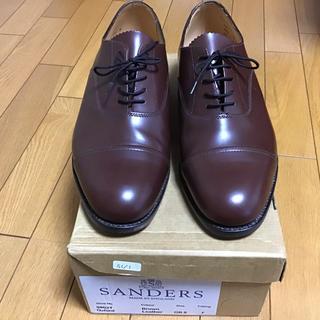 SANDERS - ☆激安☆SANDERSサンダース☆新品未使用☆革靴ストレートチップ☆ オールデン