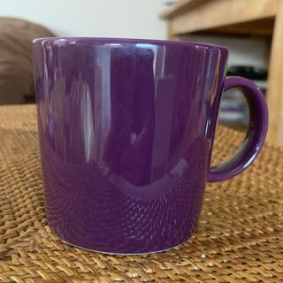 イッタラ(iittala)のittala teema ダークライラック300mlマグカップ(グラス/カップ)