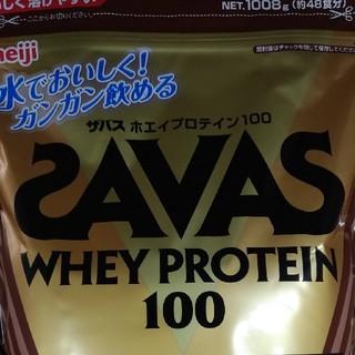 SAVAS - ザバス ホエイプロテイン100 1008g (約48食分)1袋 チョコレート風味