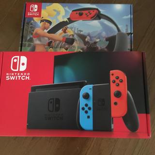 Nintendo Switch - 新品未開封『任天堂スイッチ リングフィットアドベンチャー』switch ネオン