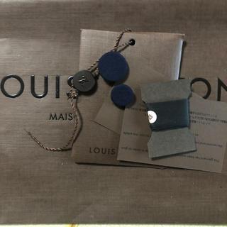 ルイヴィトン(LOUIS VUITTON)のLV換えボタン、糸タグセット (各種パーツ)