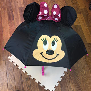 ディズニー(Disney)のディズニー ミニーちゃん 子ども用 傘 47cm(傘)