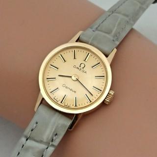 OMEGA - OH済 1973年製 オメガジュネーブ ゴールド色 レディース 手巻き 極美品