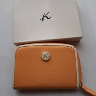キタムラ(Kitamura)のキタムラオレンジ色コインケース 未使用(コインケース)