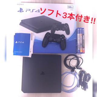 PlayStation4 - SONY PlayStation4 本体 CUH-2000AB01 付属品あり