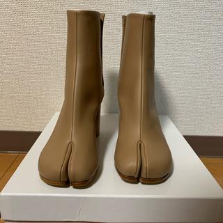 マルタンマルジェラ(Maison Martin Margiela)のベージュ☆正規未使用品 maison margiela 足袋ブーツ(ブーツ)