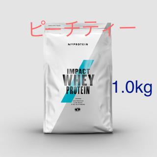 MYPROTEIN - Impact ホエイプロテイン ピーチティー 1.0kg