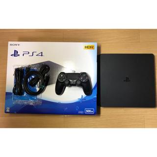 PlayStation4 - 【美品】SONY PlayStation4 ジェット・ブラック 500GB