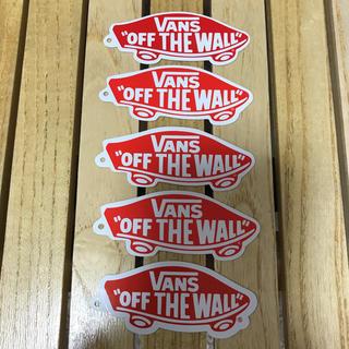 ヴァンズ(VANS)の【VANS】バンズ ステッカー 5枚セット(3月限定100円引‼️)(ステッカー)