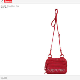 Supreme - Supreme 20SS Small Shoulder Bagショルダーバッグ赤