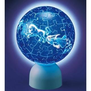 新品未開封 天体儀パズル 12星座がわかる天体儀 光る球体パズル(日用品/生活雑貨)