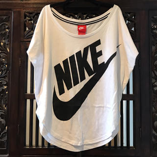 NIKE - NIKE ナイキ ビッグ ロゴ Tシャツ SM 白