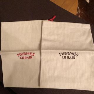 Hermes - エルメス防水袋 巾着 保存袋