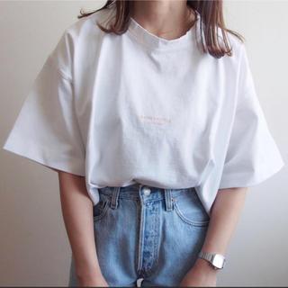 ACNE - acne studious ロゴ tシャツ