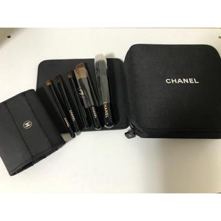 シャネル(CHANEL)のシャネルメイクポーチ ミラーブラシ付(コフレ/メイクアップセット)