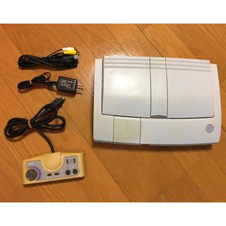エヌイーシー(NEC)の中古 PCエンジン DUO-RX セット (ソフト4本付き)(家庭用ゲーム機本体)