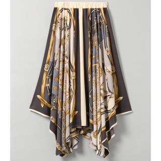 JEANASIS - 《新品》KRアソートスカーフアシメスカート