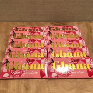 ロッテ ガーナ ピンクチョコレート 恋味いちご 10枚