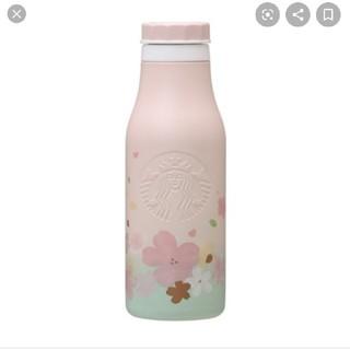 スターバックスコーヒー(Starbucks Coffee)のSAKURA2020 ステンレスロゴボトル グラデーション 473ml(水筒)