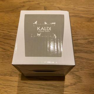 カルディ(KALDI)のKALDI タンブラー ネコの日バッグ プレミアム(タンブラー)