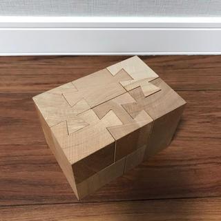 童具館 くさび 積み木 パズル