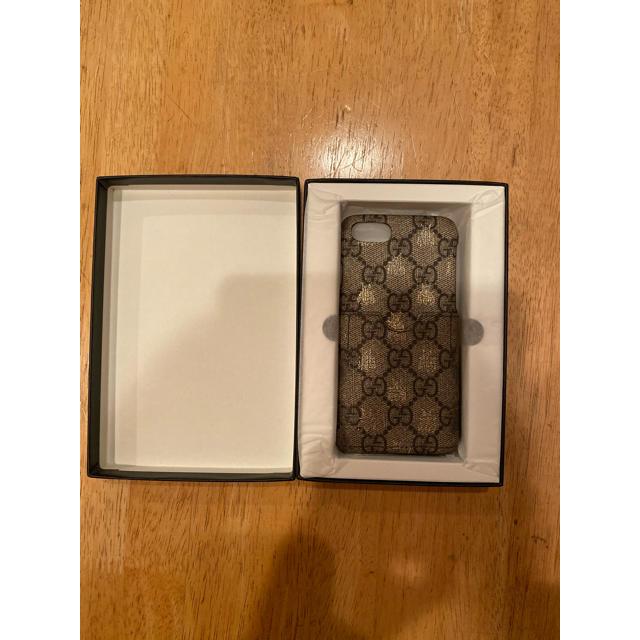 Gucci - 本日特別価格❗️(正規品)GUCCI iPhone7.8ケースの通販