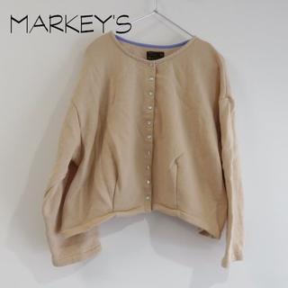 マーキーズ(MARKEY'S)のMARKEY'S マーキーズ スナップボタン カーディガン(カーディガン)