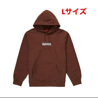 Supreme - Supreme Bandana Box Logo Hooded パーカー  茶色