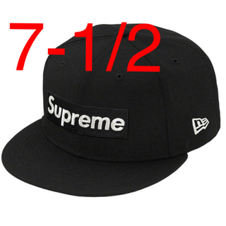 Supreme - $1M Metallic Box Logo New Era black 2