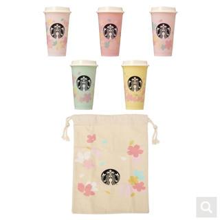 Starbucks Coffee - スターバックス リユーザブルカップ バッグ ポーチ タンブラー さくら サクラ