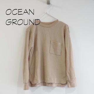 マーキーズ(MARKEY'S)の新品 OCEAN&GROUND マーキーズ サーマルカットソー(Tシャツ(長袖/七分))