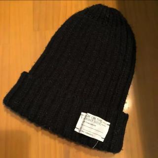 GU ニット帽 黒色