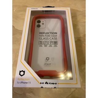 iFace リフレクション クリアレッド iPhone 11