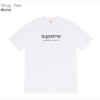 Supreme - supreme Shop Tee White M サイズ 20ss